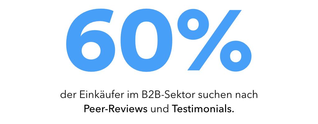 Peer-Reviews und Testimonials