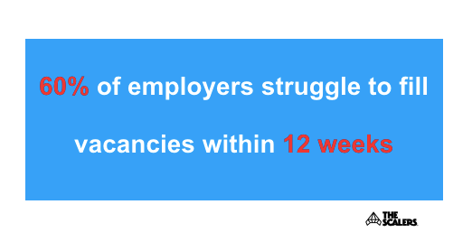 Vacancies facts infographic