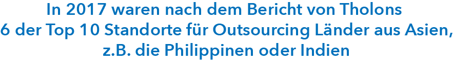 Softwareentwicklung Outsourcing Top Standorte