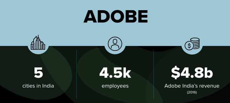 Adobe facts infographic