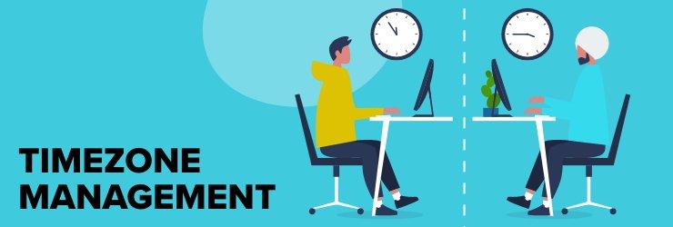 Timezone management