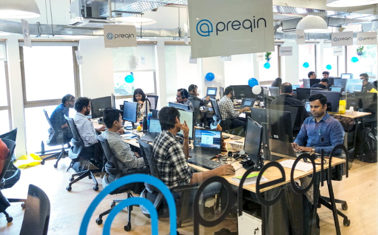 Preqin office
