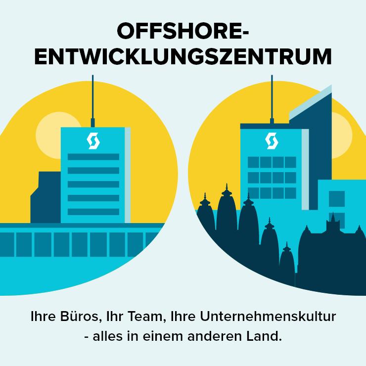 Offshoring Entwicklungszentrum