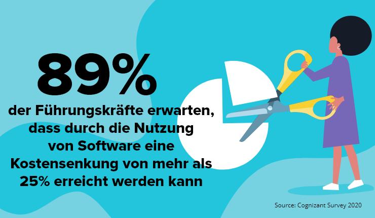 Kostensenkung Software