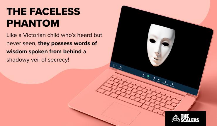The faceless phantom